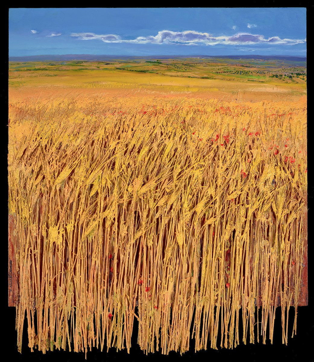 Campo de Trigo by ramon vila -  sized 36x37 inches. Available from Whitewall Galleries